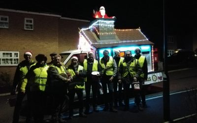 Santa Rounds 2019 – A huge thank you to the residents of Buckingham and the surrounding villages